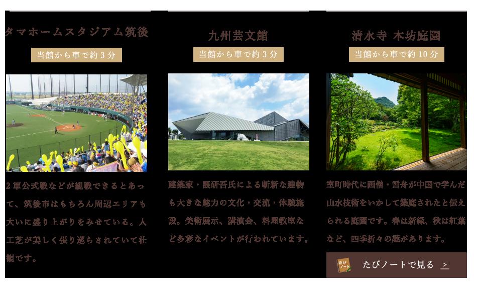 九州芸文館 清水寺 本坊庭園 絣工房